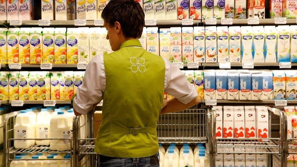 Supermarkt plus openingstijden vakkenvullen