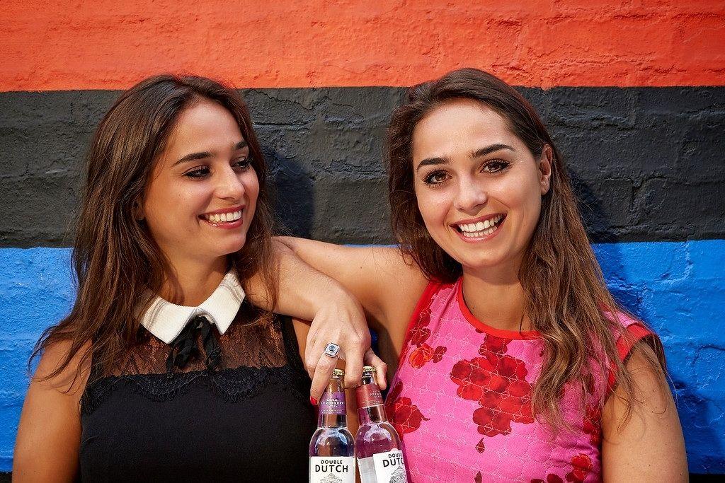 Double Dutch Drinks tweeling flesjes