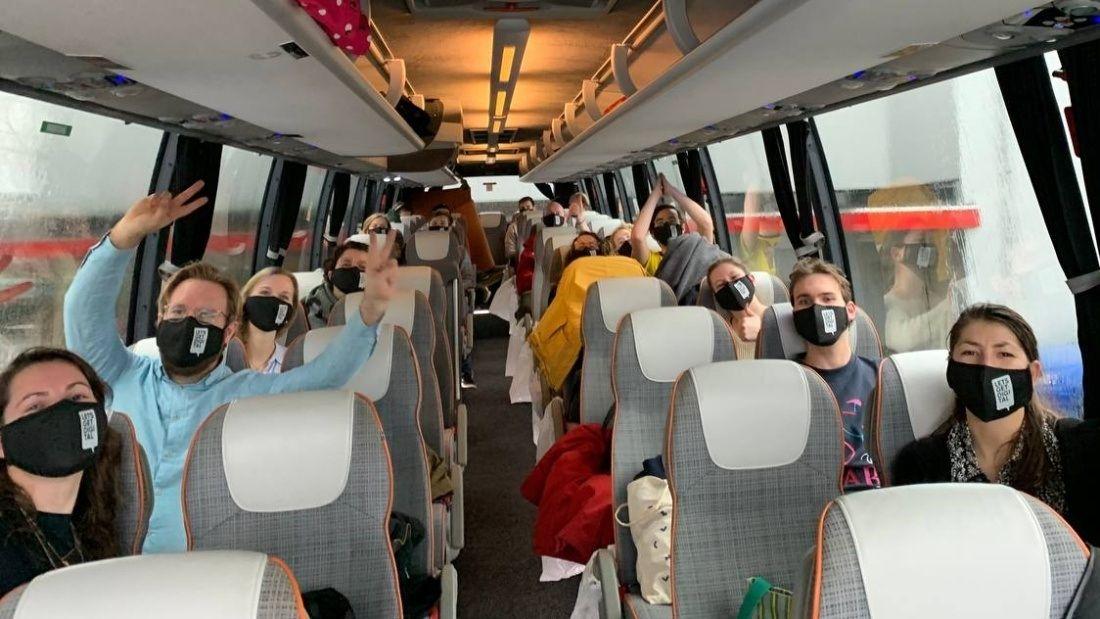 Eurovisie team bus Event Insights