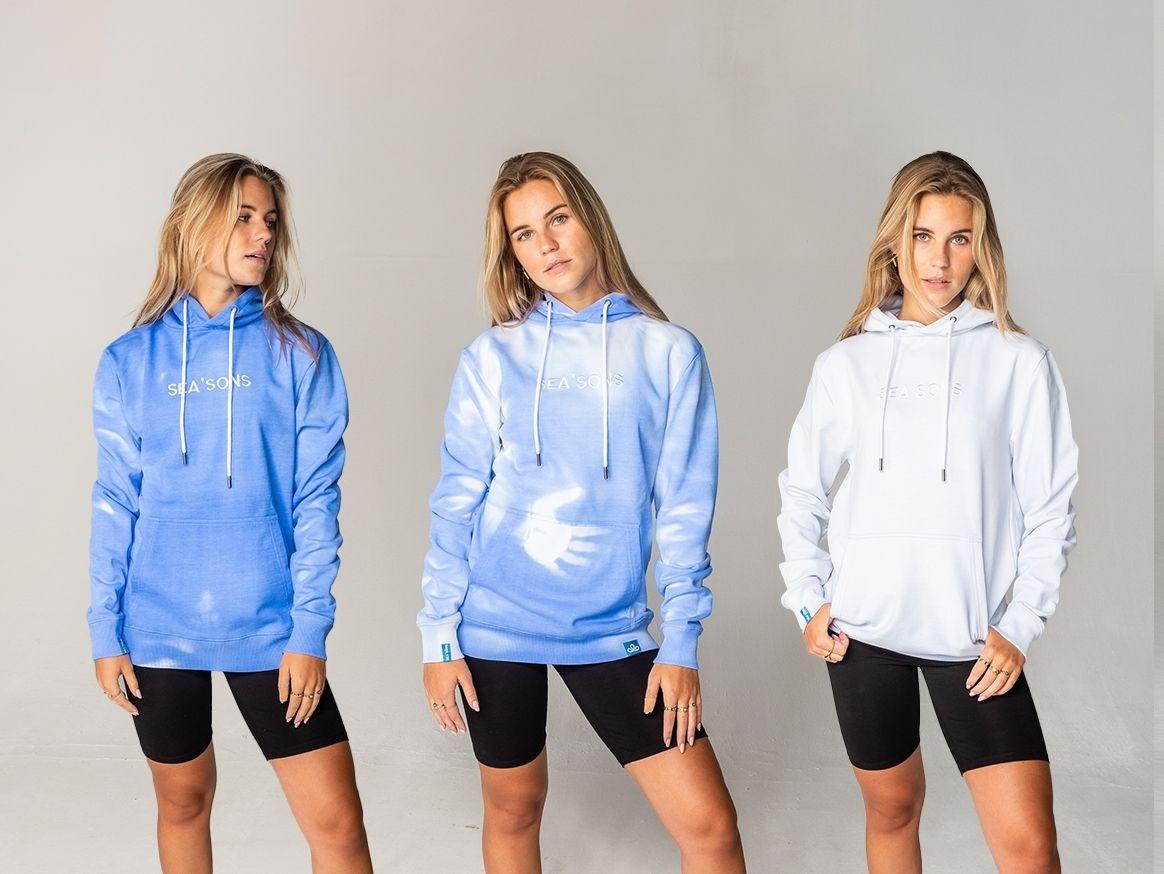 Seasons hoodie model female