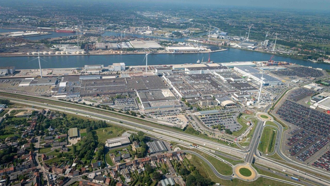 Volvo fabriek Gent overzicht
