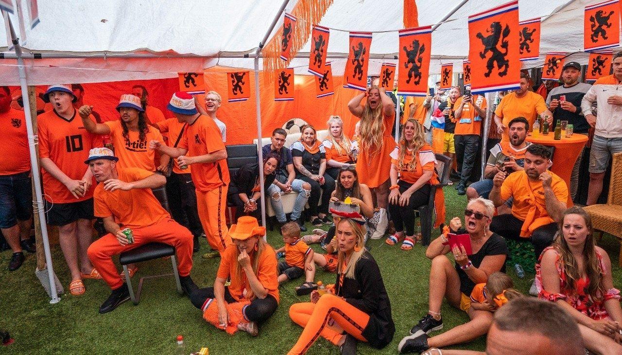 Oranje ek nederlands elftal supporters