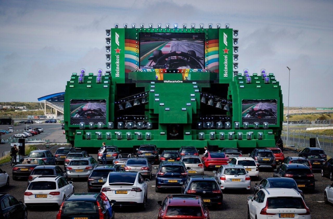 Heineken zandvoort formule1 maxverstappen