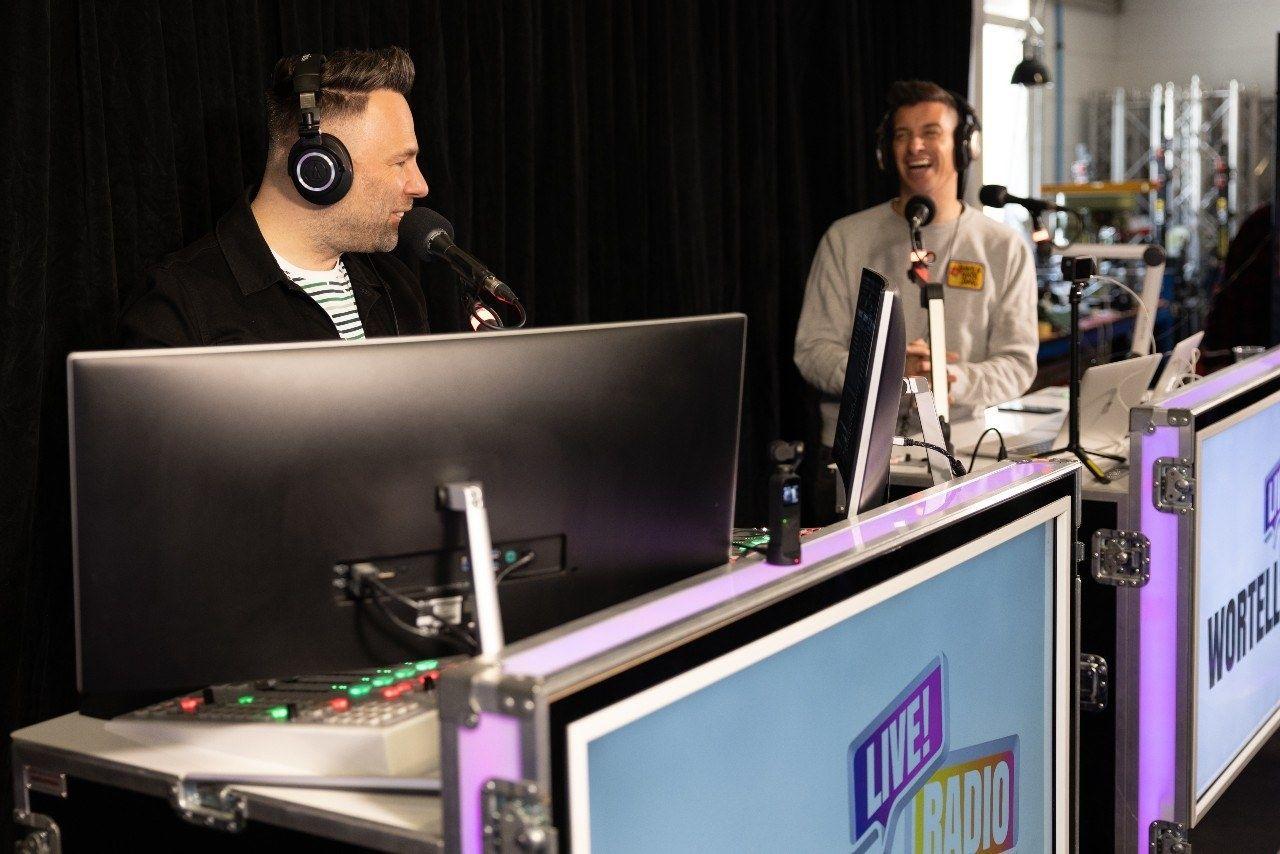 Live Radio studio