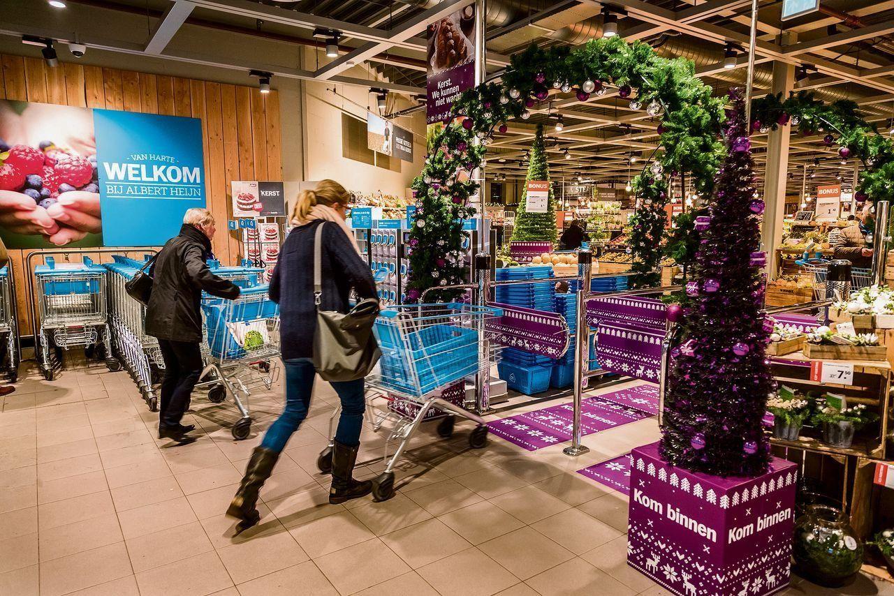 Albert heijn openingstijden kerst supermarkt