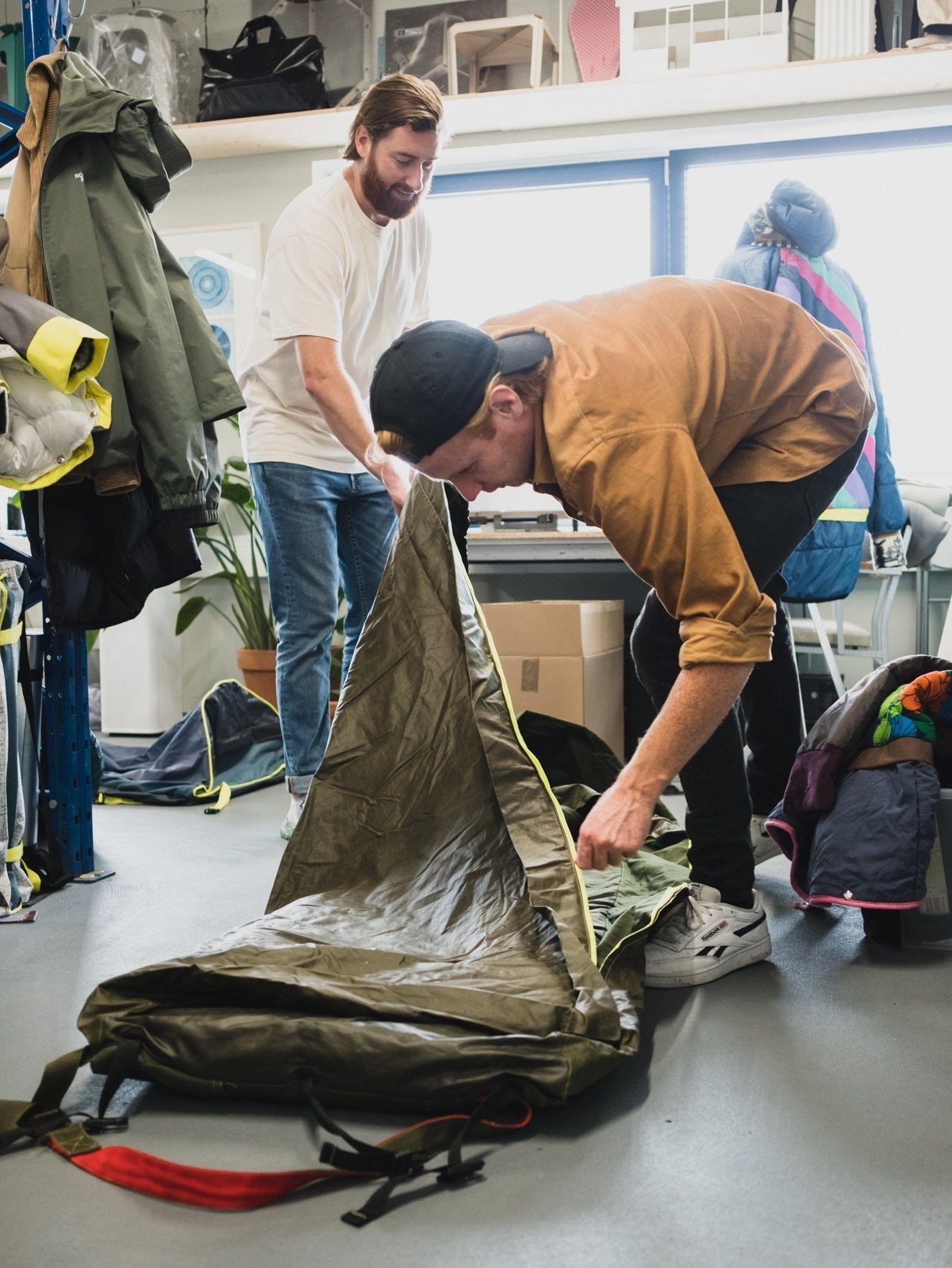 Bas timmer shelterbag sheltersuit
