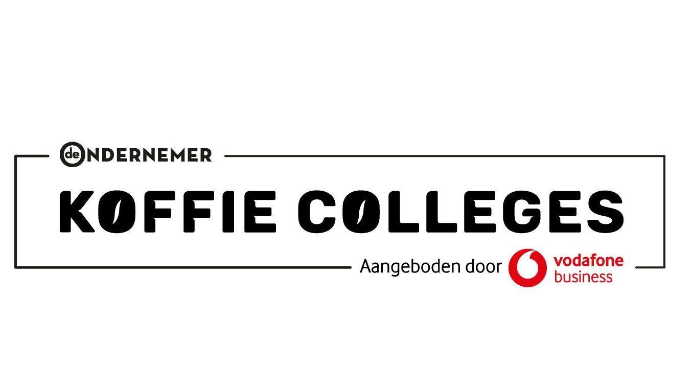 Koffie Colleges Logo ZWART