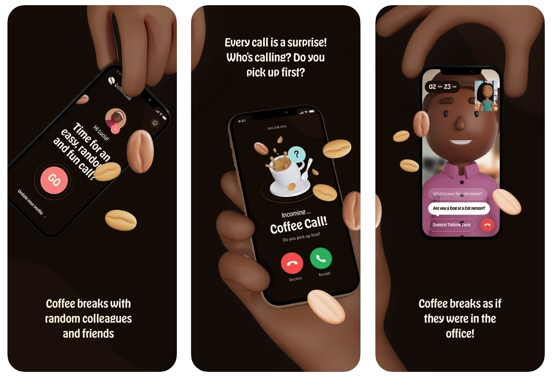 Coffeecall app koffie thuiswerken lockdown coronamaatregelen Rutte