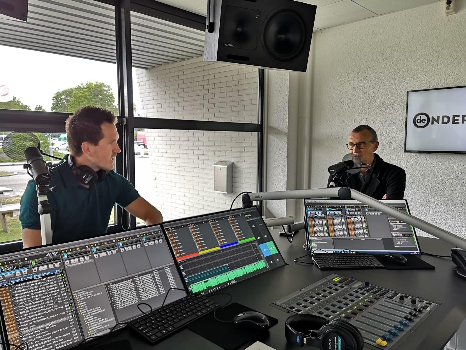 Thomashendriks thijsvandijk studio radio mediapark