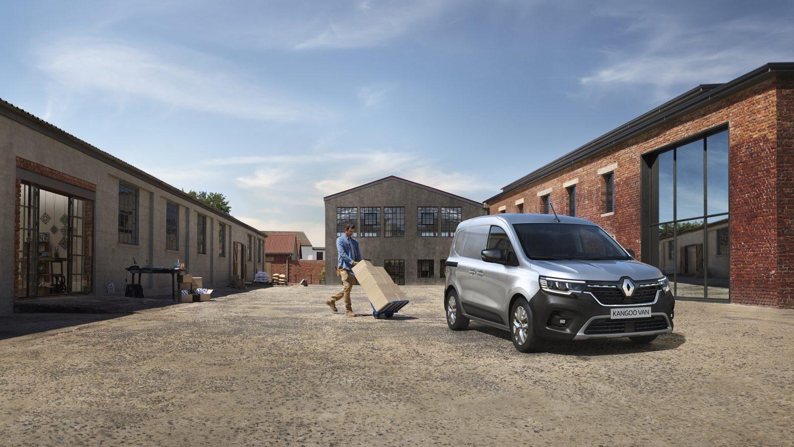 Renault kangoo van bestelwagen
