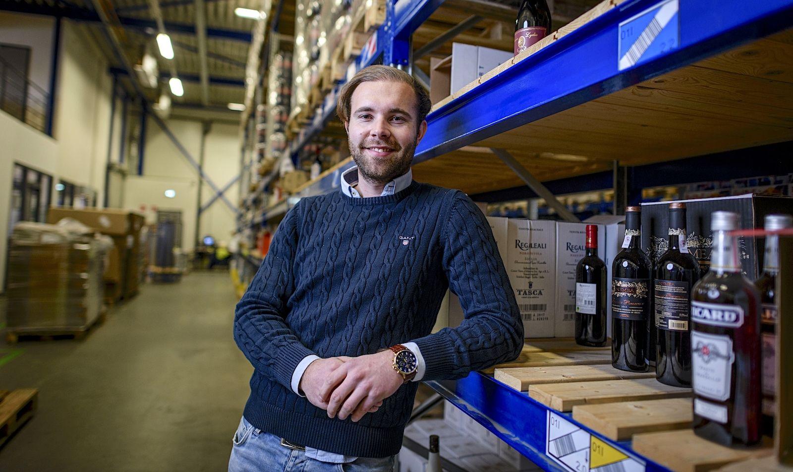 Butlon online supermarkt Alessio Pinna thuisbezorgd boodschappen Enschede