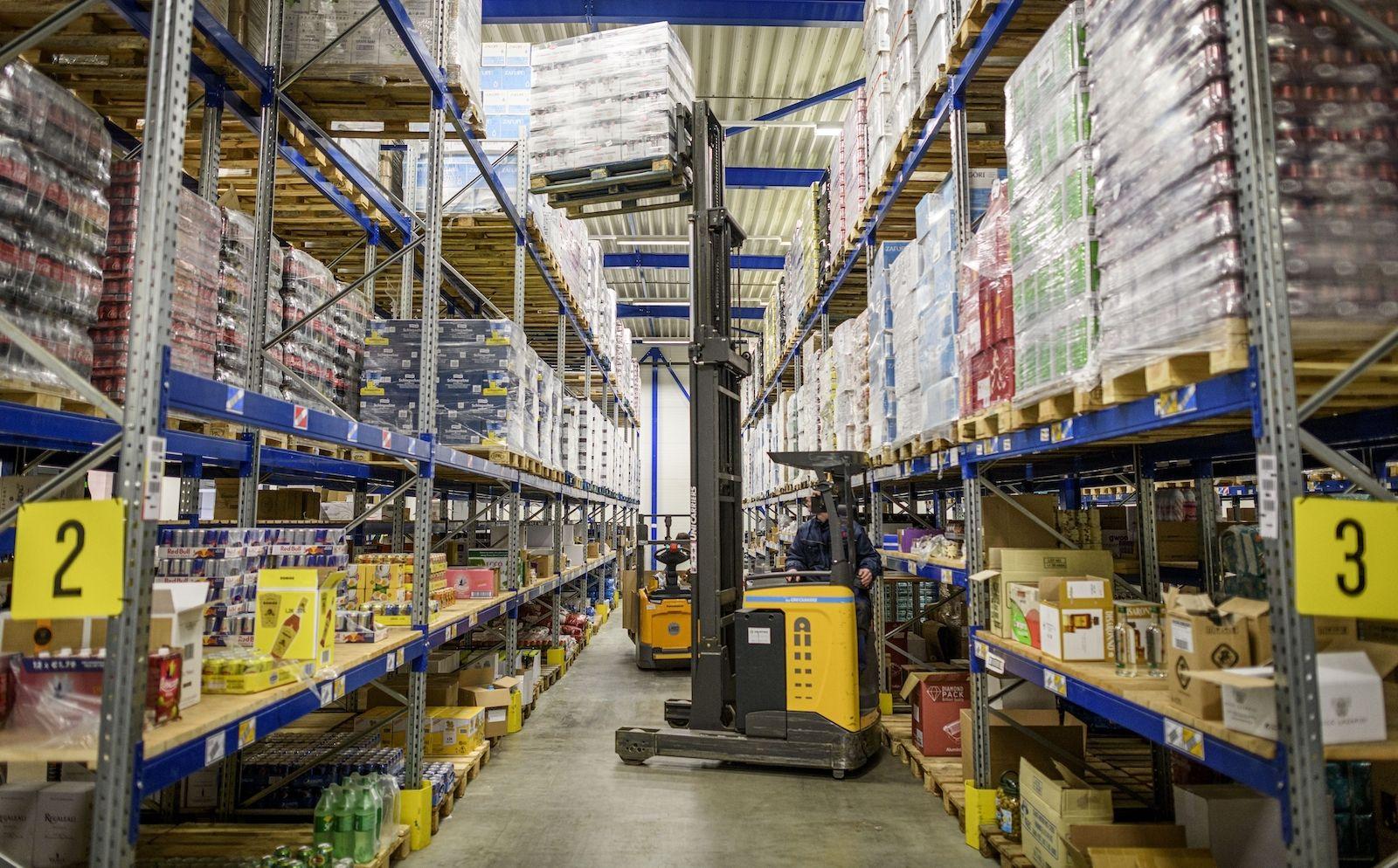 Online supermarkt Butlon Enschede magazijn boodschappen