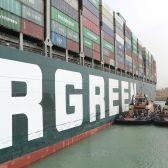 Suezkanaal blokkade containerschip