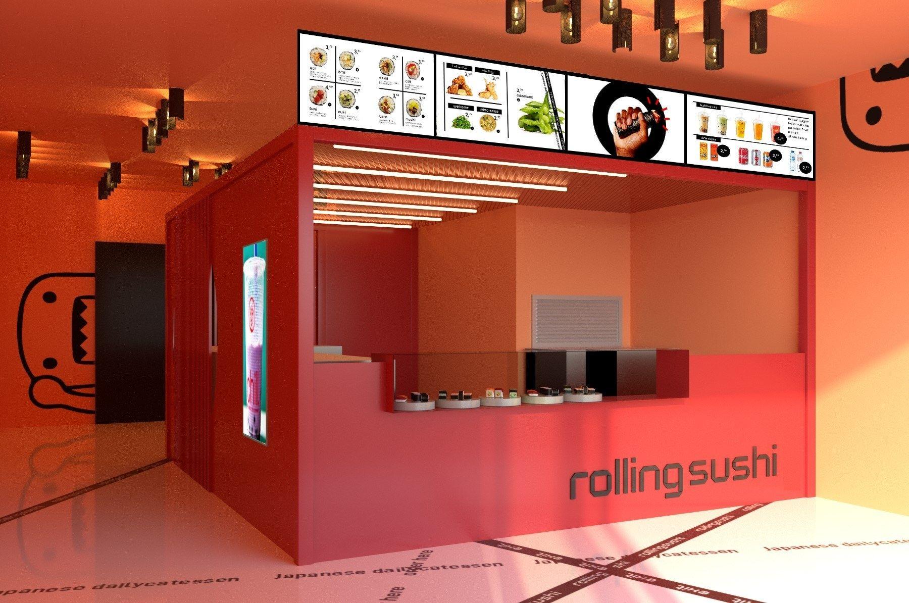 Rolling sushi winkel
