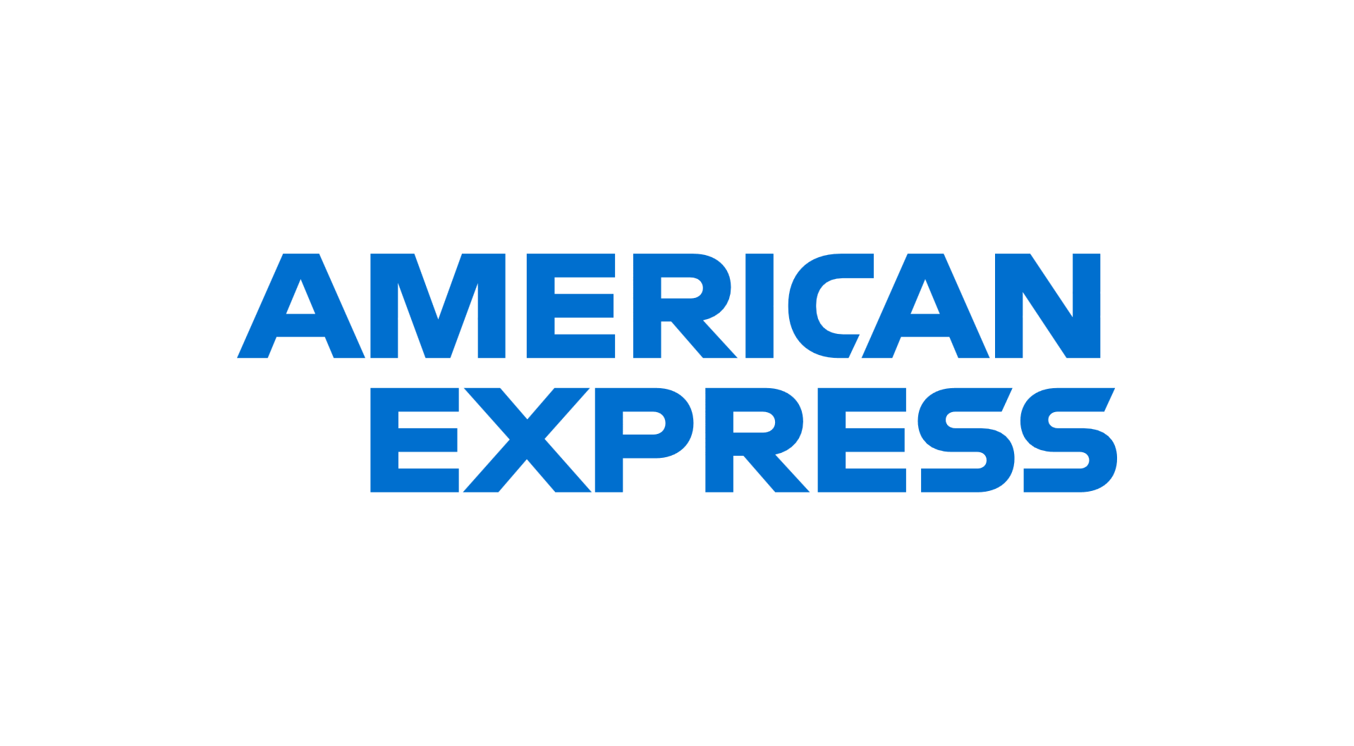 American Express Logotype Stacked