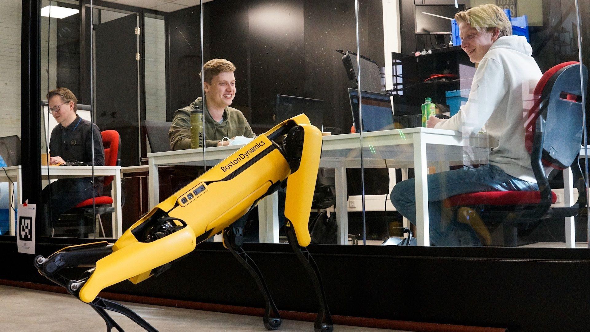 Studenten Windesheim robothond spot
