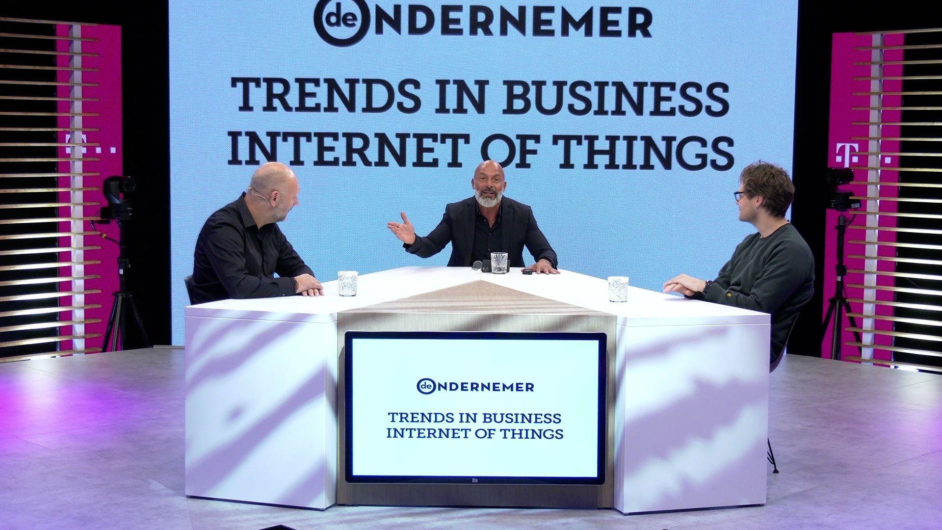 T mobile Igor Beuker gasten tafel