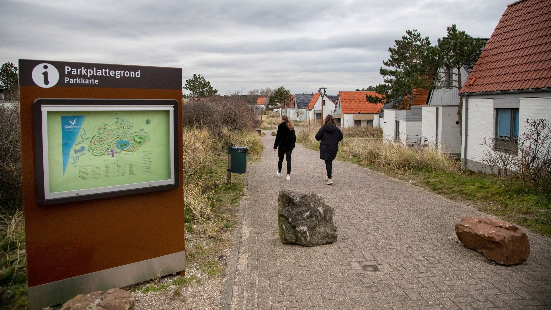 Centre parcs zantvoort entree