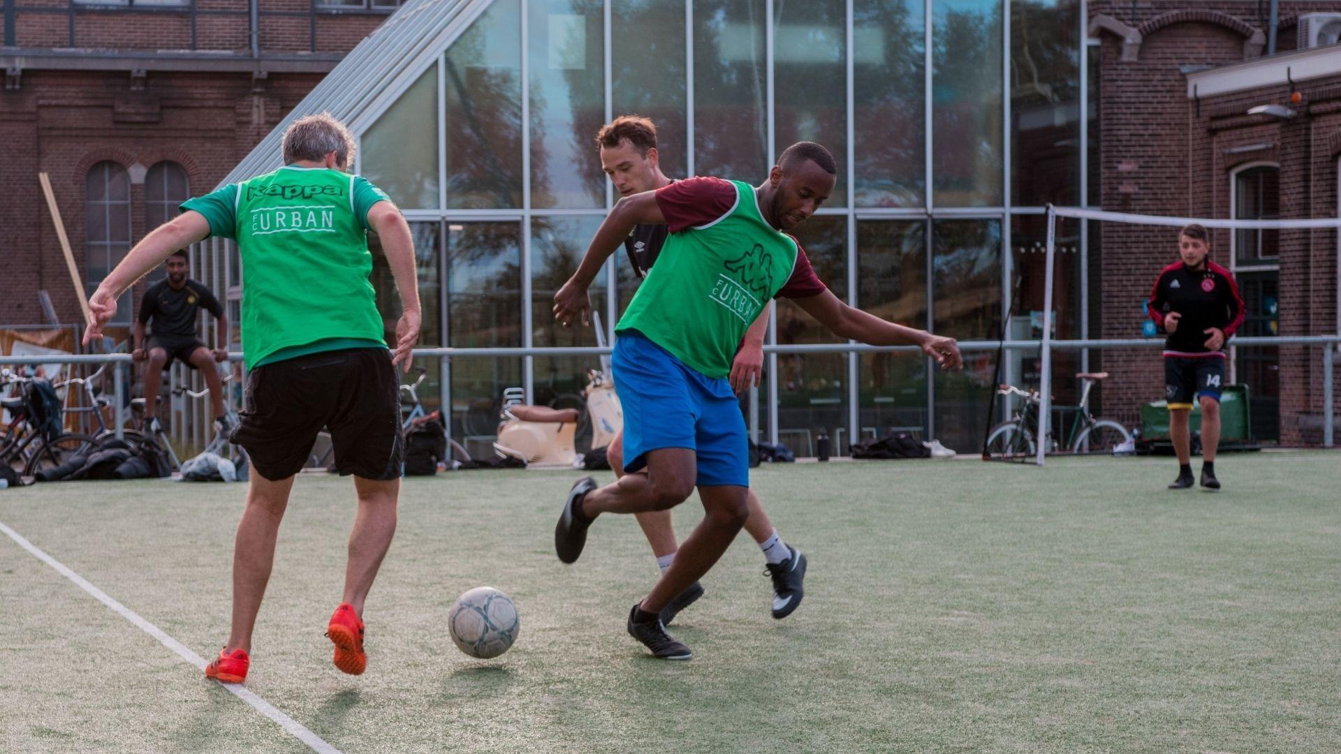 Fc urban voetbalstartup clubleden investeerders 1