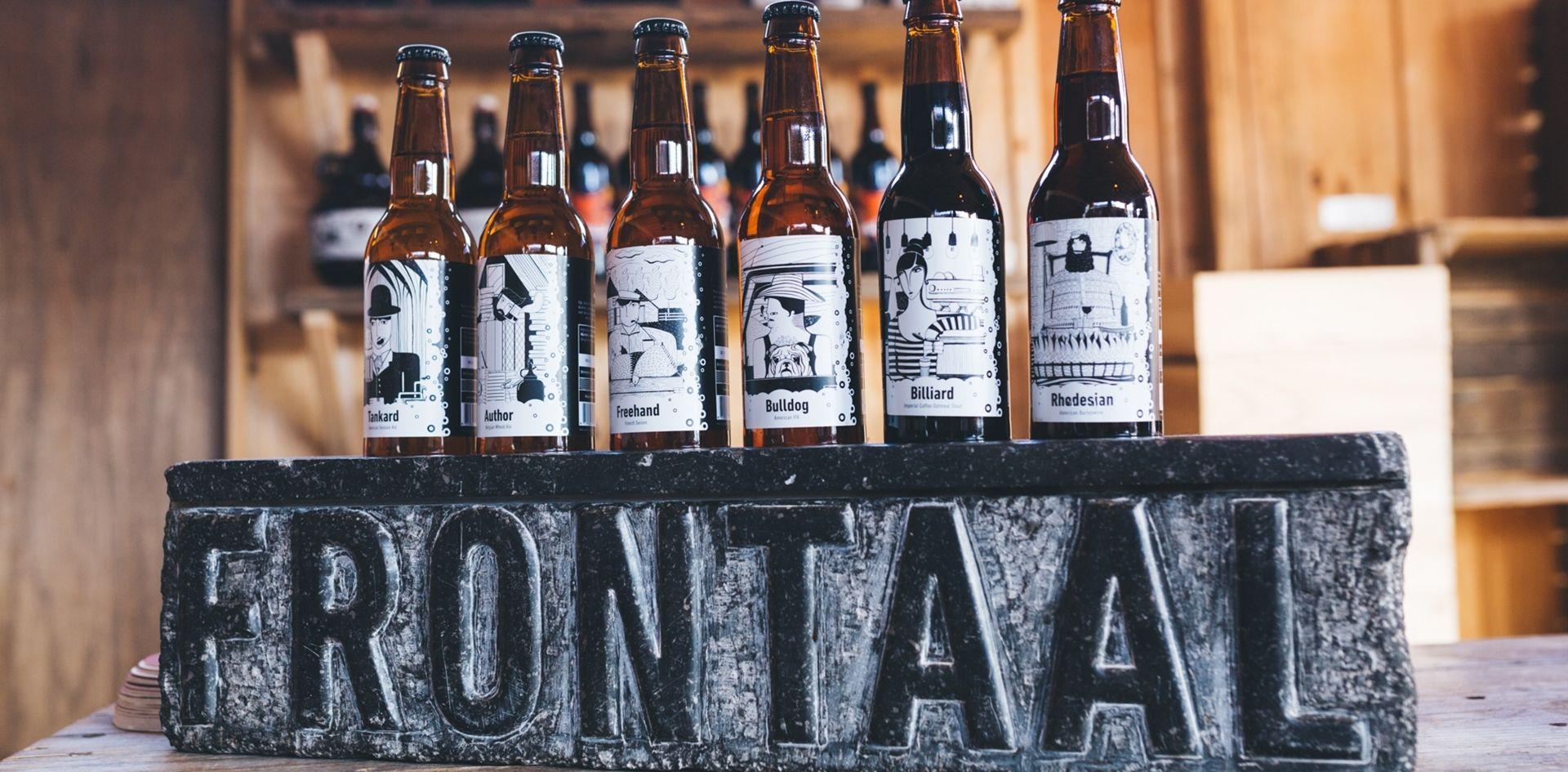 Pils bier brouwerij nederland streekbier breda frontaal assortiment