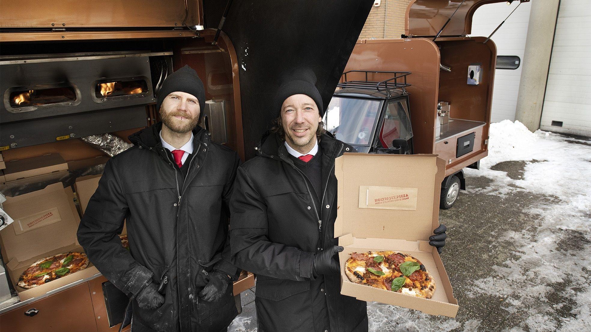 Ben van Duin pizza kompaan