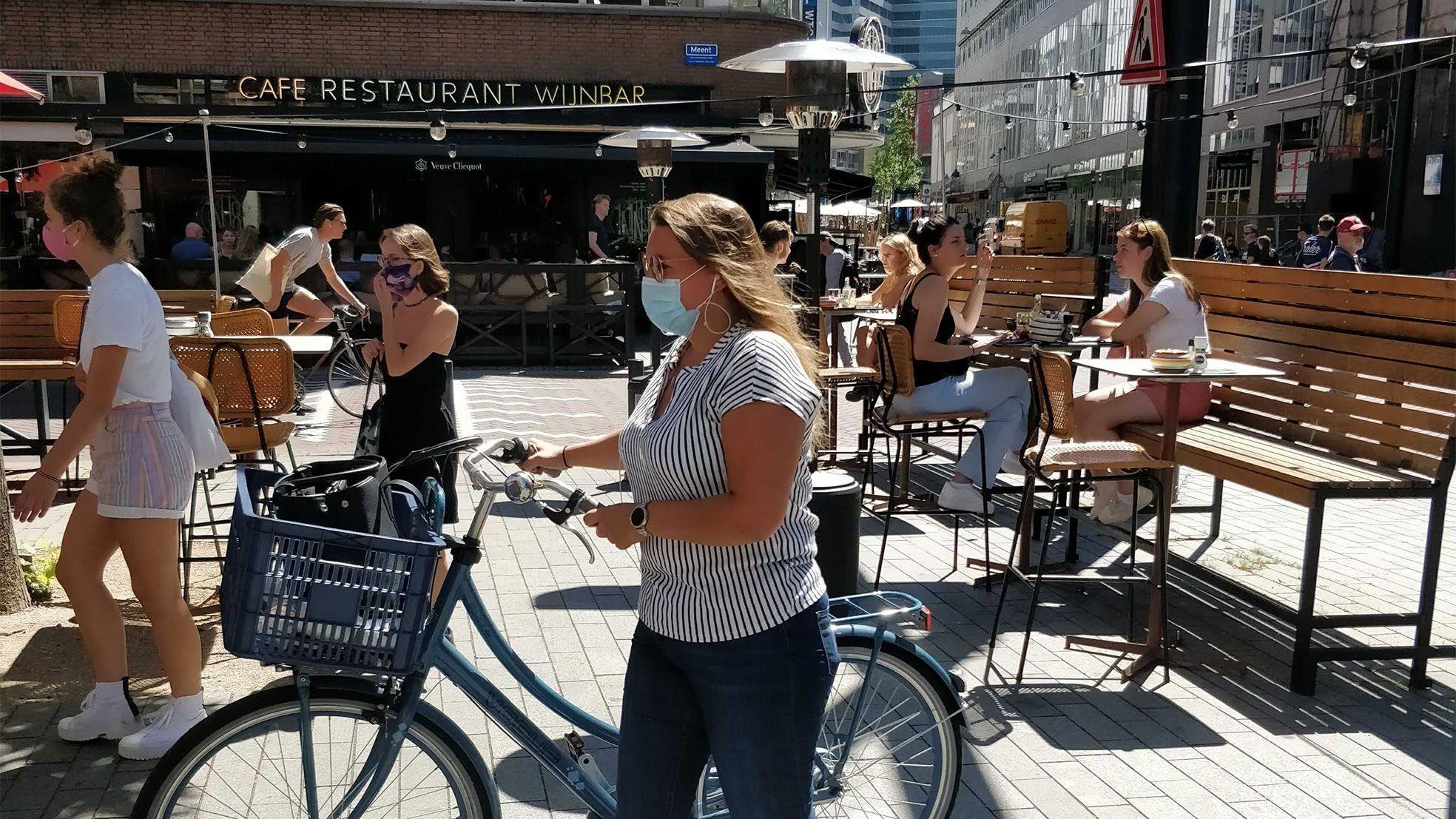 Meent Rotterdam mondkapjes