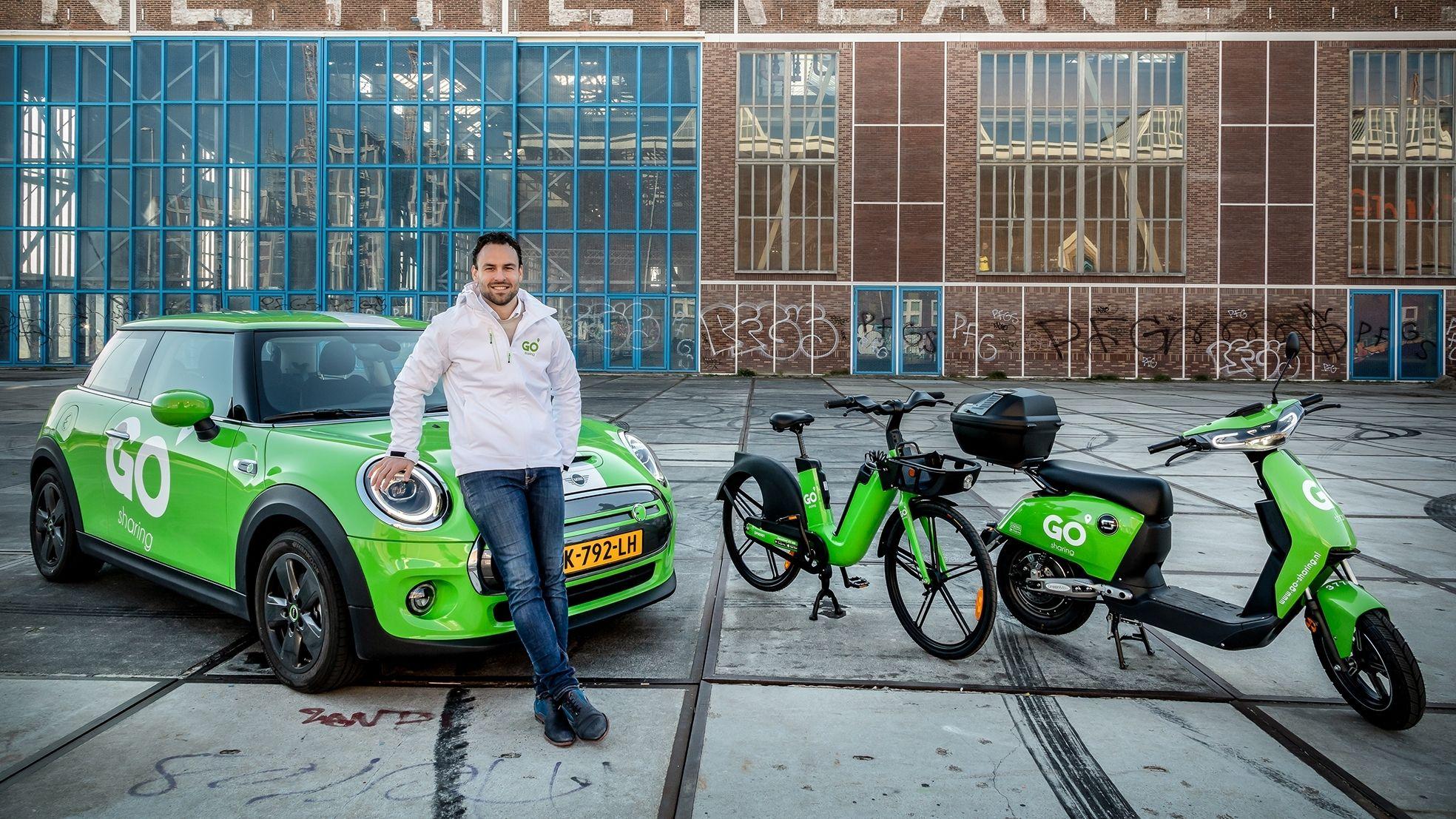 Raymond Pouwels Go scooter auto