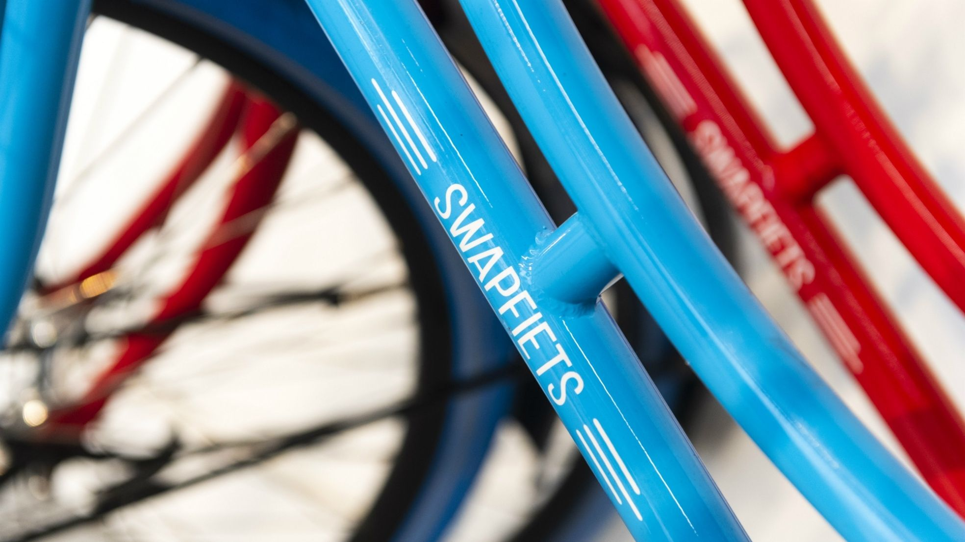 Swapfiets logo frame