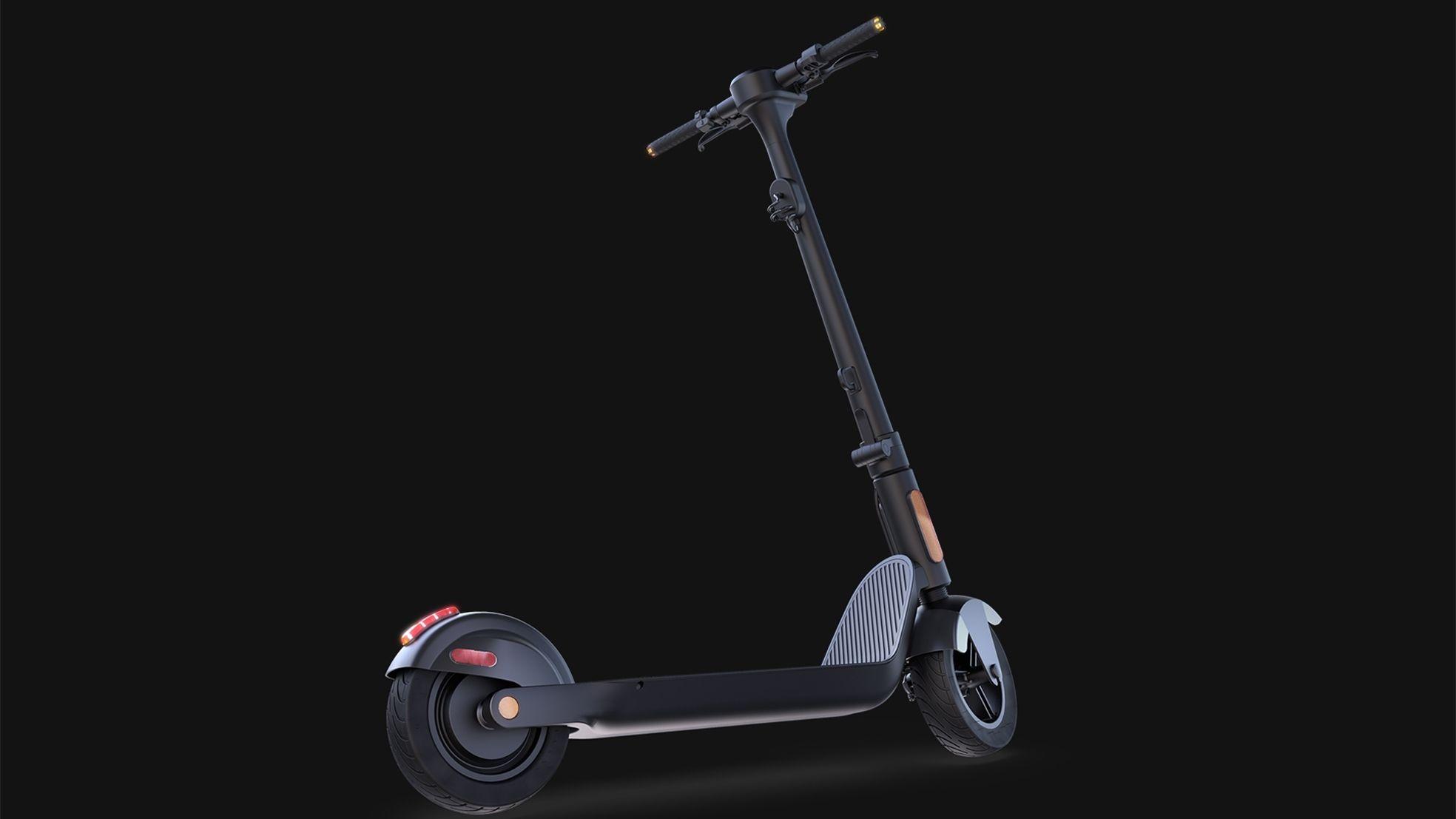 Swheels Electric Scooter geheel