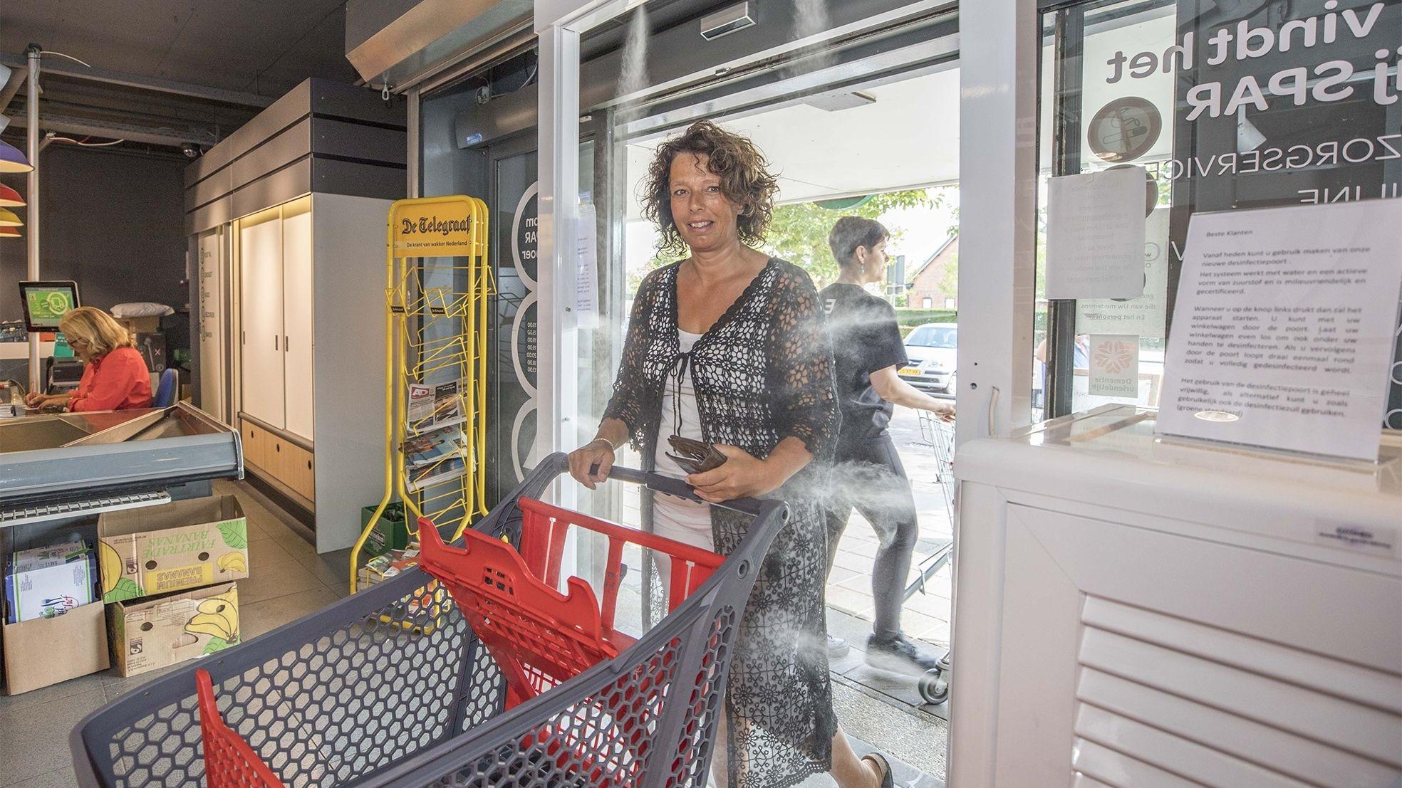 Veilig spar supermarkt wemeldinge corona