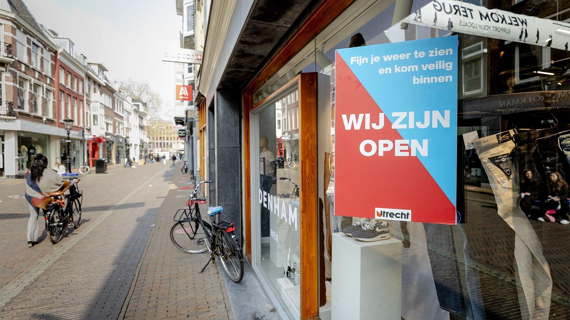 Winkelstraat winkel open 28 april versoepeling