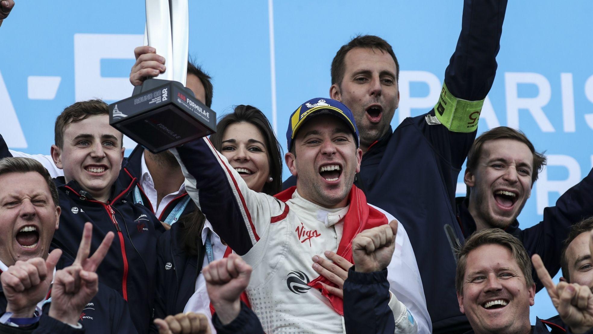 Formule E Robin Frijns winnaar talent