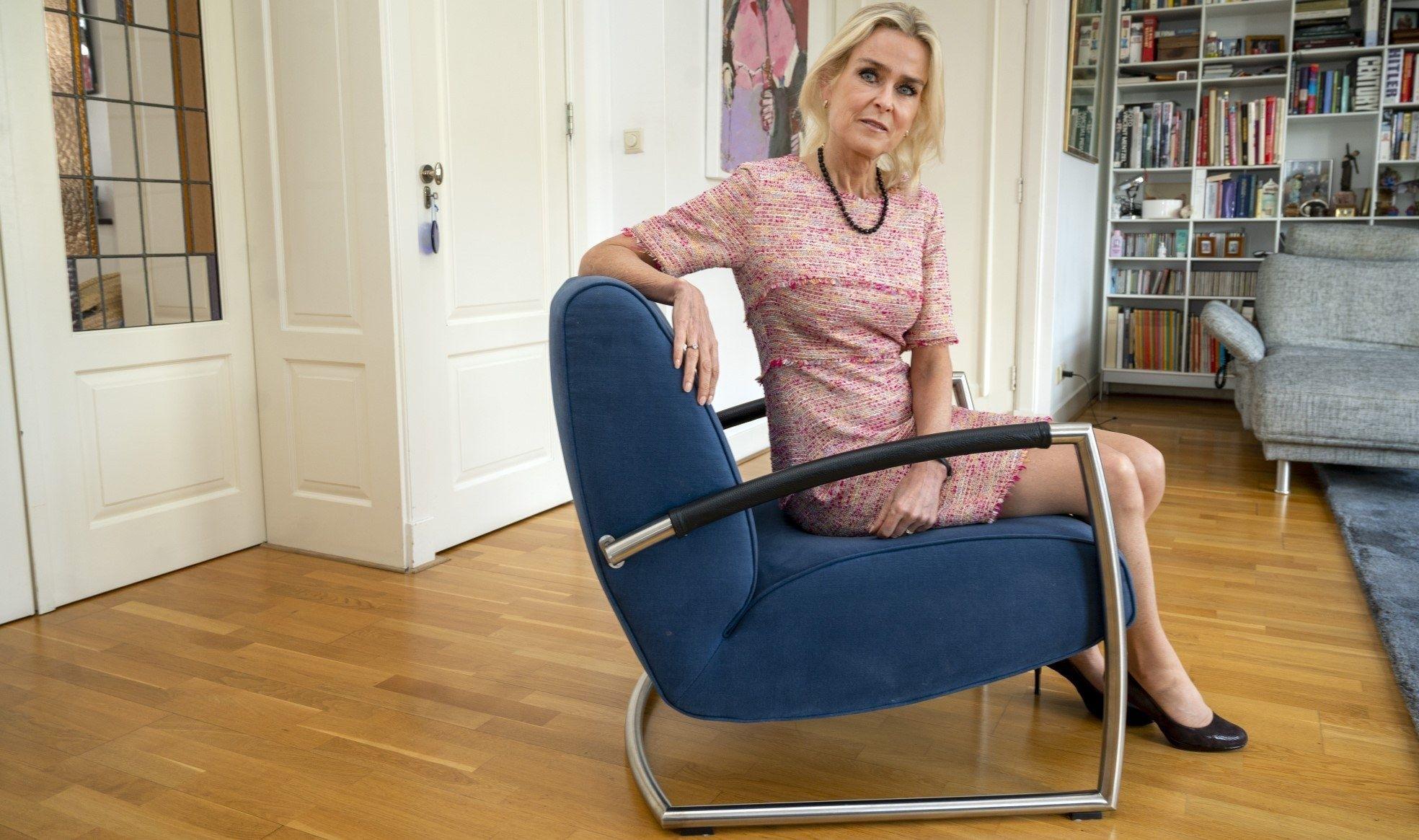 Barbara Baarsma econoom stoel