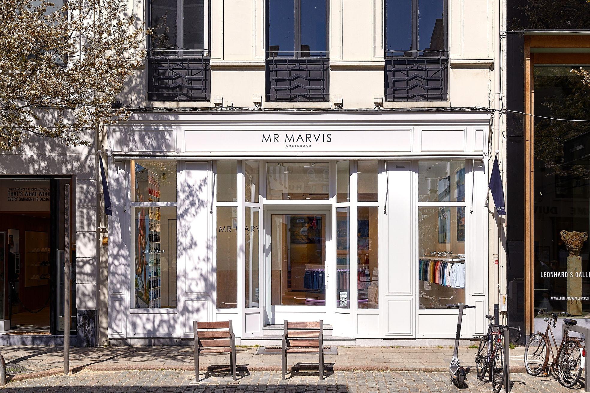 Mr Marvis Antwerpen winkel exterieur