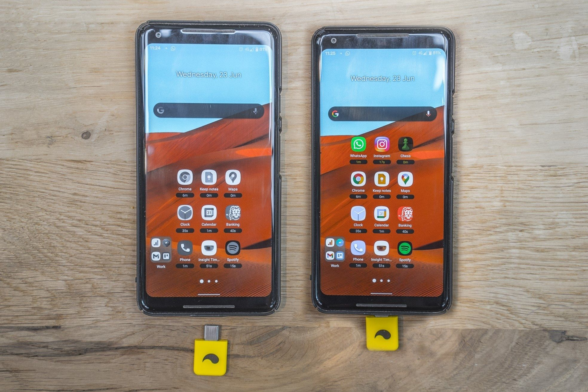Unpluq smartphones