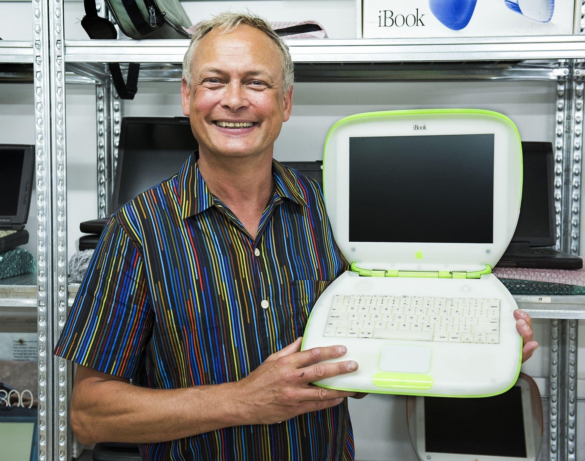 Ed Bindels Apple laptop