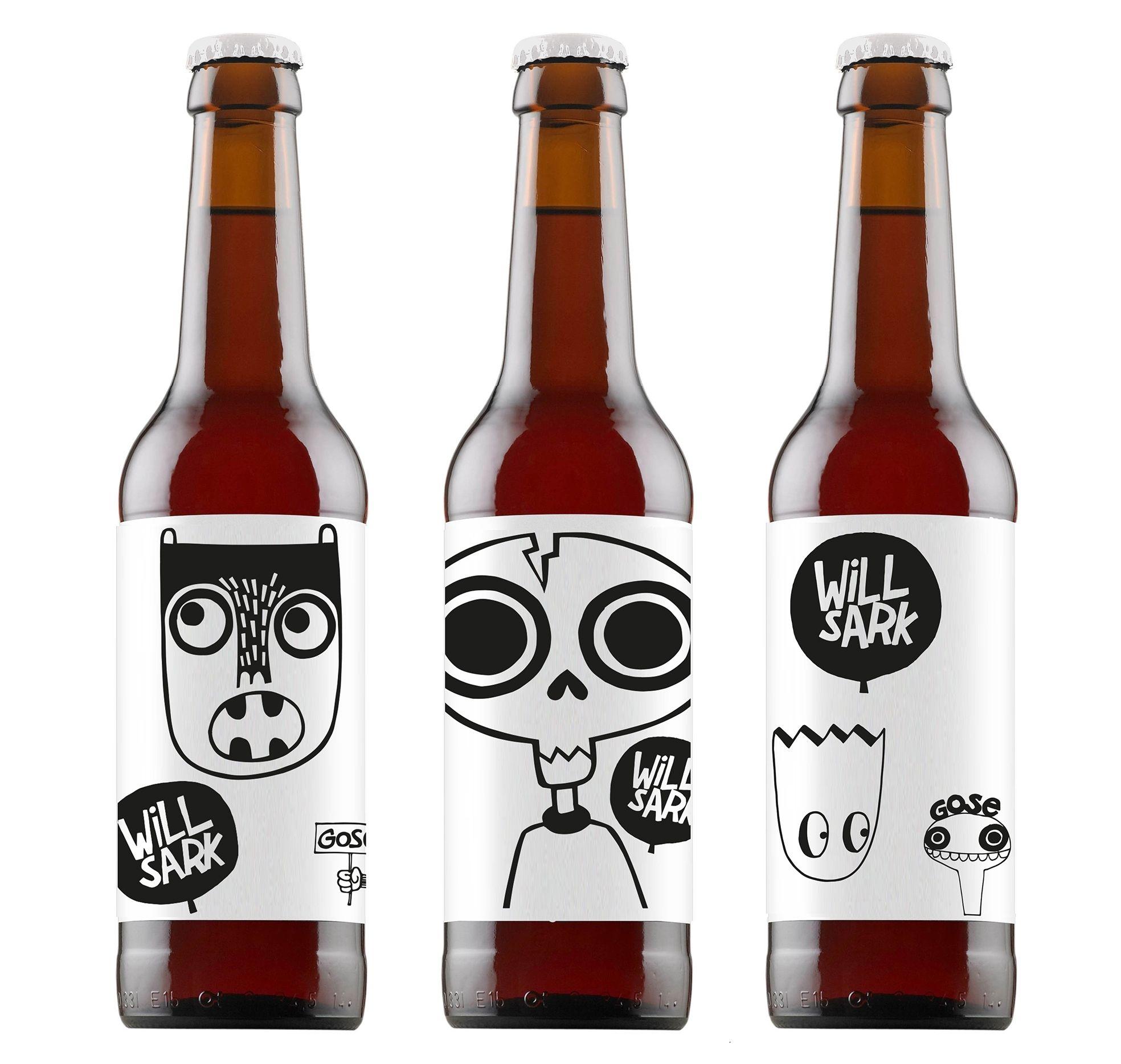 Willsark bier flesjes
