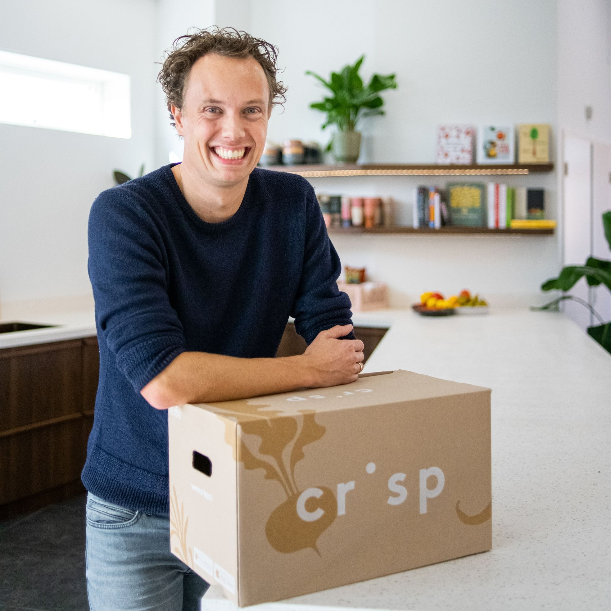 Crisp Founder Tom Peeters