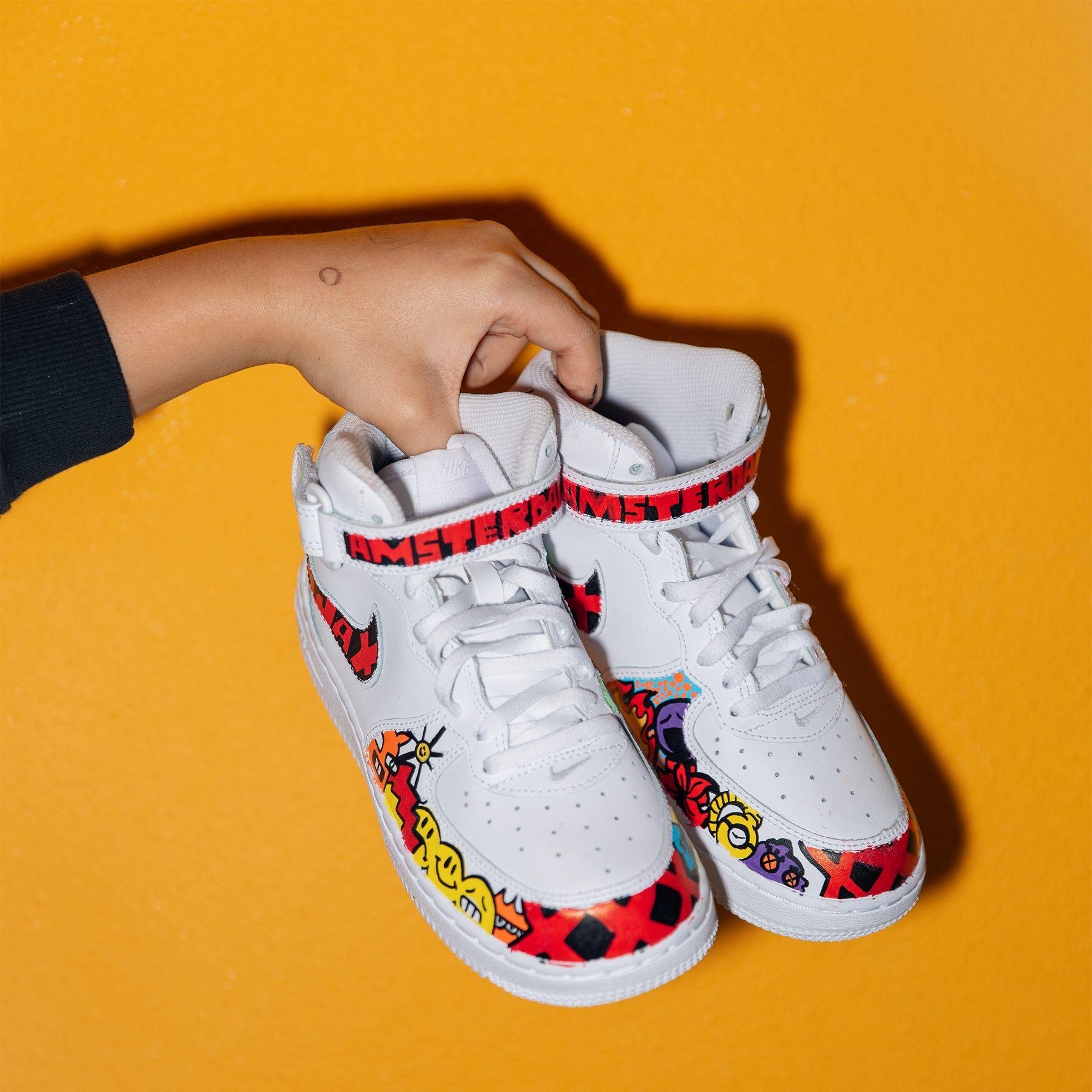 Sneaker design Moos Polak