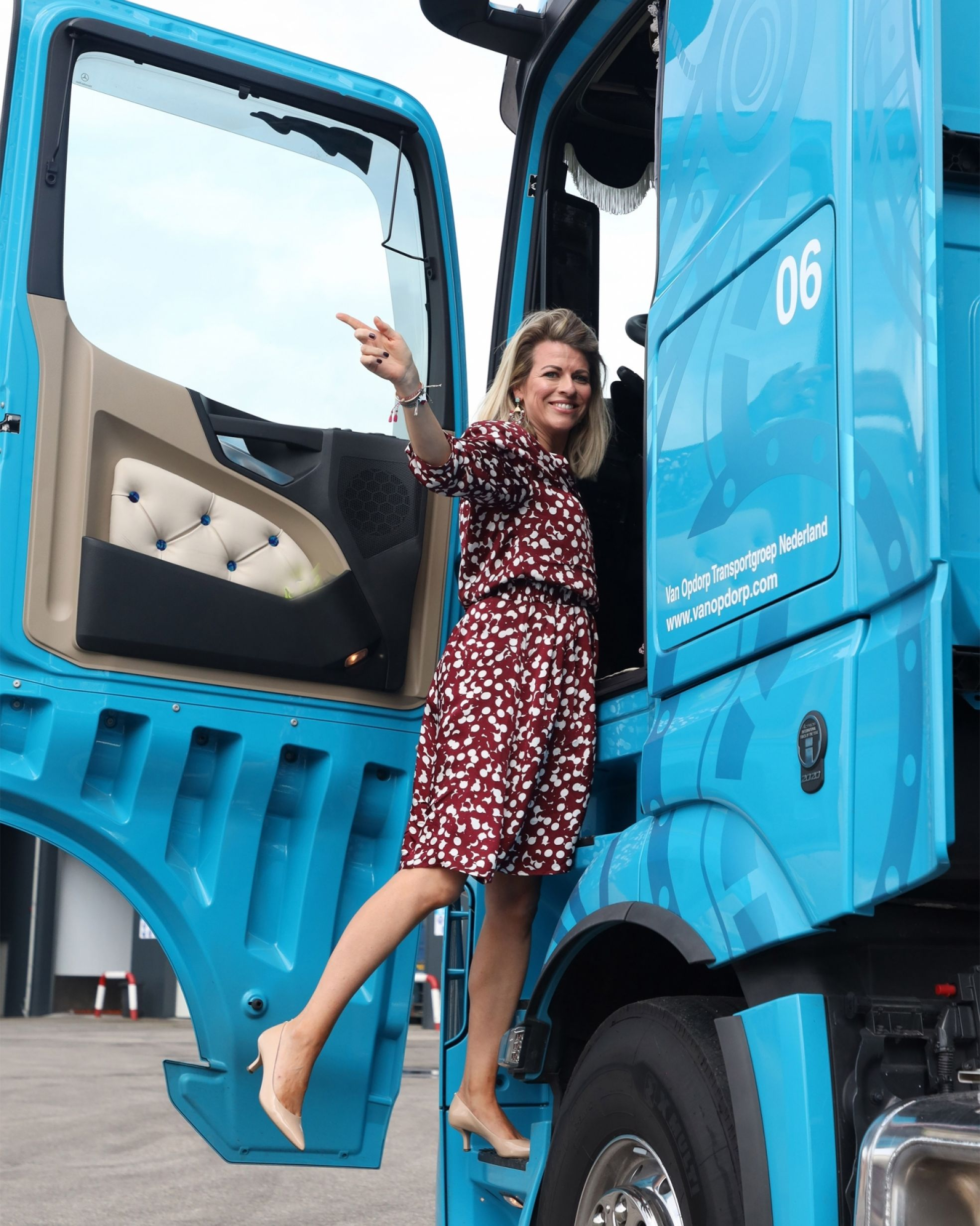 Manon truck transport staand
