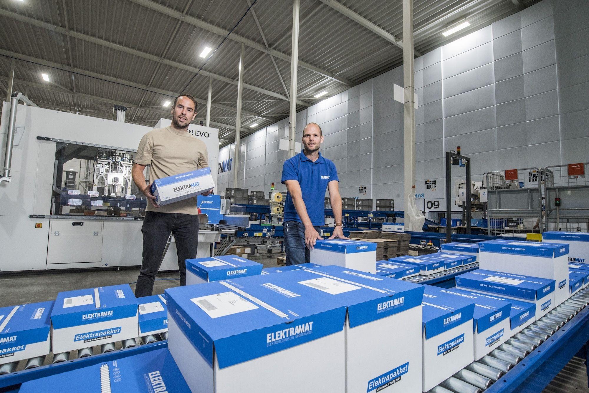 Ruud Pierik Elektramat enschede miljoenen bedrijf online handel ondernemer magazijn