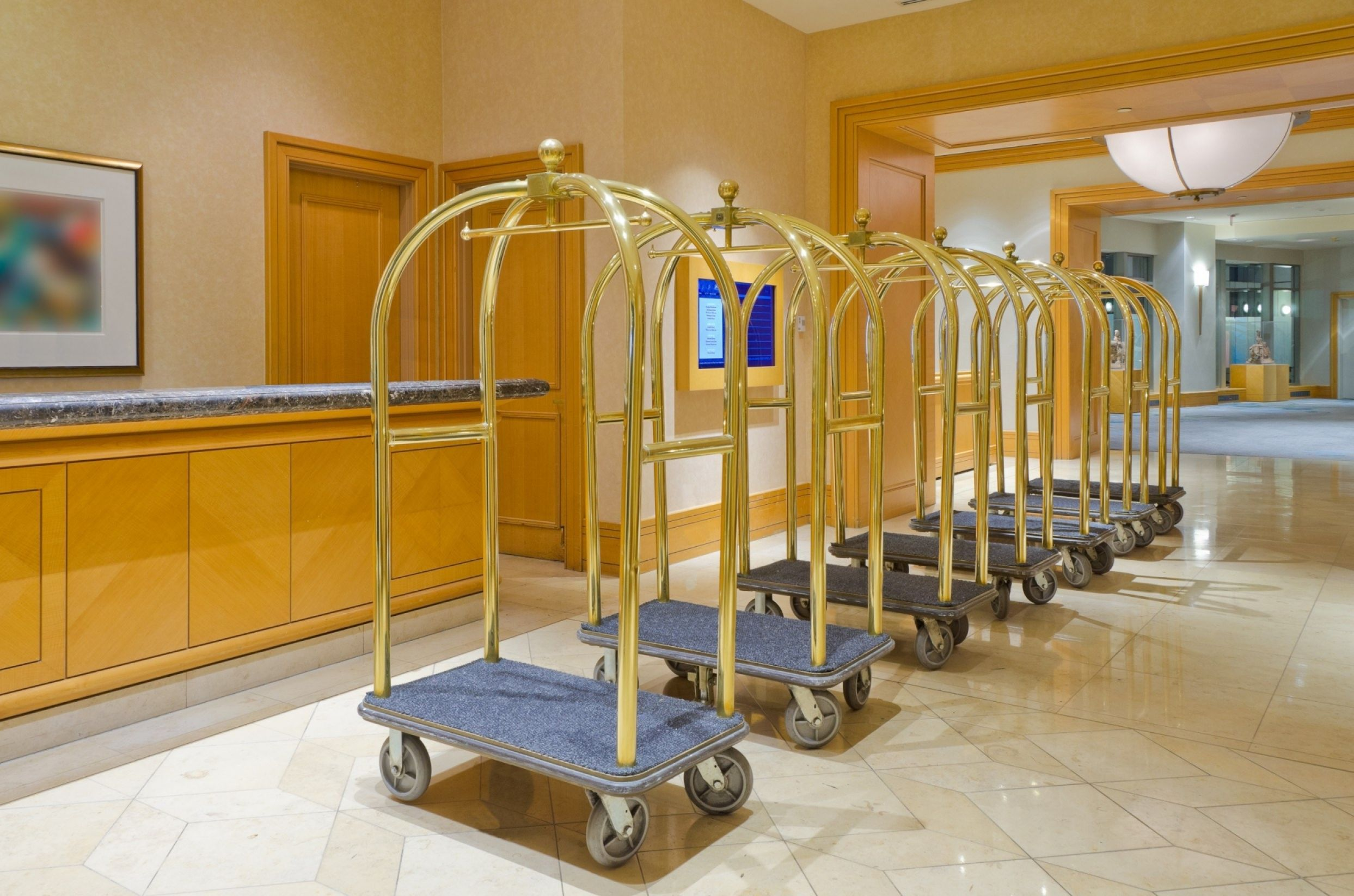 Hotel lobby piccolo receptie