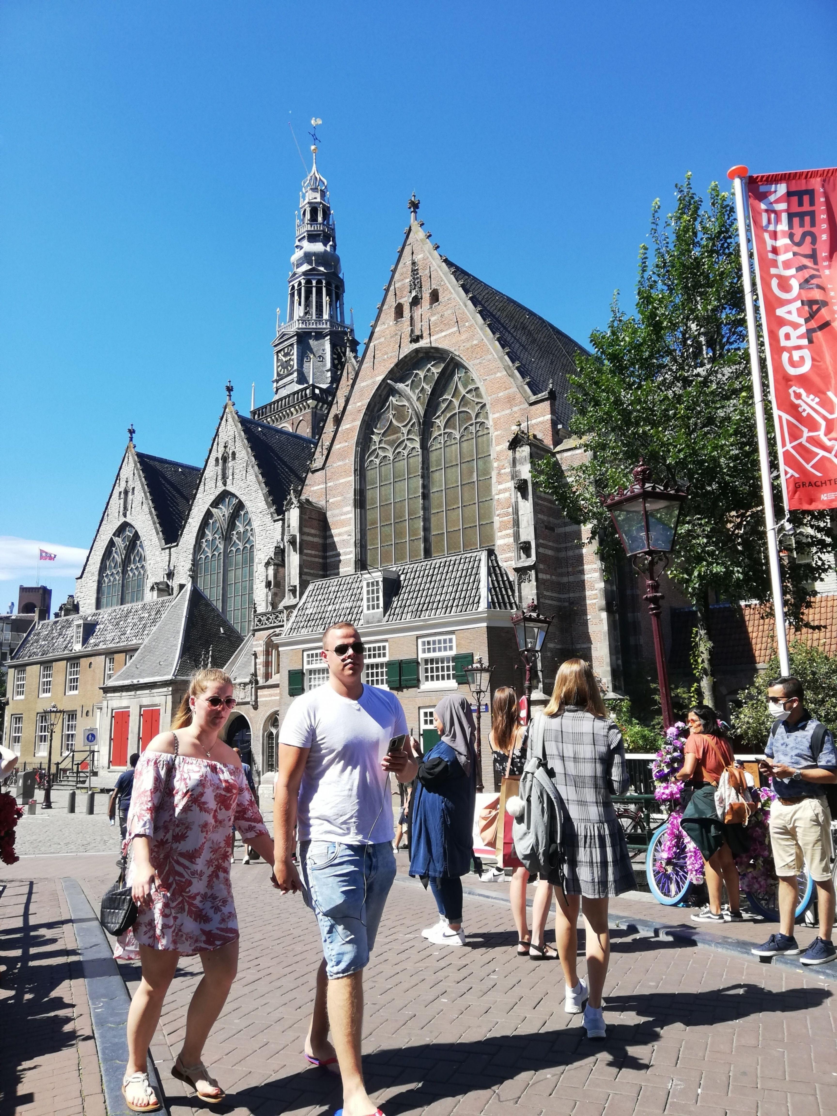Mondkapjes plicht wallen amsterdam