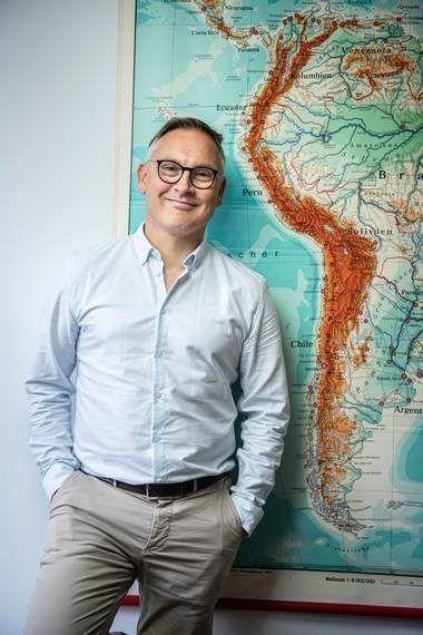 Johan van Rijswijck directeur en oprichter van reisbedrijf Sapa Pana Trave