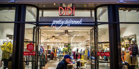 Didi doorstart failliet winkelstraat kledingwinkelketen