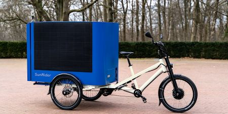 Need The Globe Sun Rider solar cargo e bike 2