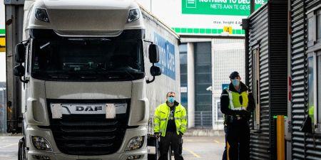 Verenigd Koninkrijk transport vrachtwagenchauffeurs Nederland coronavirus Johnson