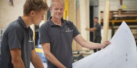 Houten huizen houtskelet bouw stikstof uitstoor