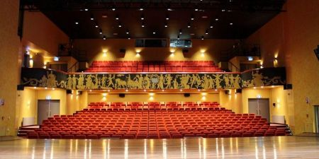 Theaterzaal bioscoop figi
