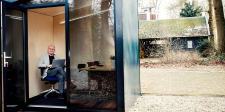 Tuin kantoor mathijs van dijk welldesign zaak